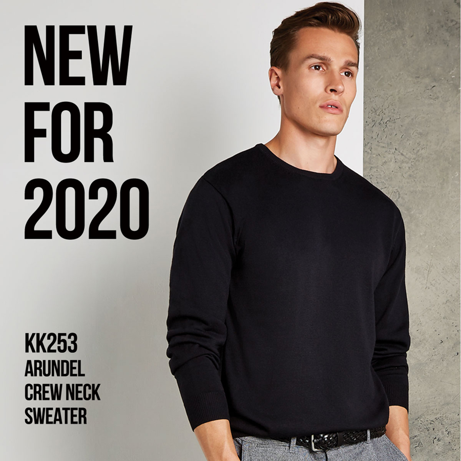 New for 2020 the KK253 Arundel Crew Neck Sweater